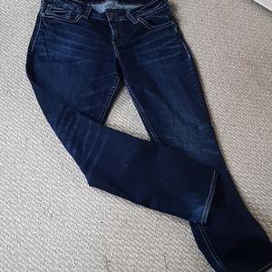 Silver suki straight leg jeans